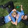 "Brianna Rice lays with her boyfriend Ryan Freeman near Boulder Creek during the Creek Festival in Central Park on Sunday. <br /> More photos:  <a href=""http://www.dailycamera.com"">http://www.dailycamera.com</a><br /> (Autumn Parry/Staff Photographer)<br /> May 29, 2016"