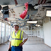 "Tom Blahak, a project manager, stands in an old computer lab which will be turned into classroom space, as part of the renovations from 2014's bond issue, at Boulder High School on Thursday. <br /> More photos:  <a href=""http://www.dailycamera.com"">http://www.dailycamera.com</a><br /> (Autumn Parry/Staff Photographer)<br /> June 30, 2016"