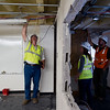 "From left to right, Tom Blahak, Sabina Fedrowitz, and Mark Odorisio discuss the construction details at Boulder High School on Thursday. Renovations at Boulder High are part of the first phase of school construction projects from 2014's $576 million bond issue. <br /> More photos:  <a href=""http://www.dailycamera.com"">http://www.dailycamera.com</a><br /> (Autumn Parry/Staff Photographer)<br /> June 30, 2016"