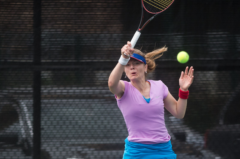 """Jacqueline Payne competes against Maureen Slattery during the women's open singles match in the Boulder Open Tennis Finals at the Rocky Mountain Tennis Center in Boulder on Sunday. <br /> More photos:  <a href=""""http://www.BoCoPreps.com"""">http://www.BoCoPreps.com</a><br /> (Autumn Parry/Staff Photographer)<br /> July 24, 2016"""