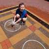 "Shay Johnson, 8, is sprayed by a water jet at Pearl Street Mall in Boulder on Friday.<br /> More photos:  <a href=""http://www.dailycamera.com"">http://www.dailycamera.com</a><br /> (Autumn Parry/Staff Photographer)<br /> July 22, 2016"