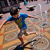 "Miles Anderson, 10, runs through the water jets at the Pearl Street Mall in Boulder on Friday. <br /> More photos:  <a href=""http://www.dailycamera.com"">http://www.dailycamera.com</a><br /> (Autumn Parry/Staff Photographer)<br /> July 22, 2016"