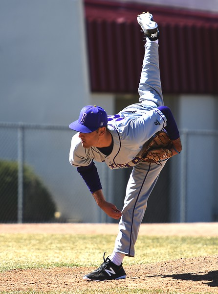 Boulder pitcher Sanjay Solomon delivers a pitch against Rangeview on Saturday, March 17, in Aurora.