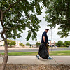 """Jim Becklenberg looks for trash along Sheridan Boulevard during a community cleanup, as part of Volunteer Week, in Broomfield on Saturday. <br /> More photos:  <a href=""""http://www.dailycamera.com"""">http://www.dailycamera.com</a><br /> (Autumn Parry/Staff Photographer)<br /> August 6, 2016"""