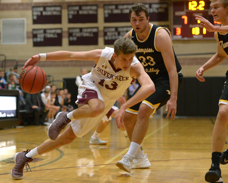 THOMPSON VALLEY AT SILVER CREEK BOYS BASKETBALL