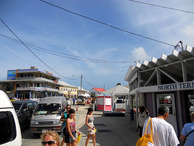 Downtown Grand Cayman. It was a busy place today!