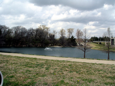 About a mile away from the house is a beautful park with several lakes called Bethany Lakes.