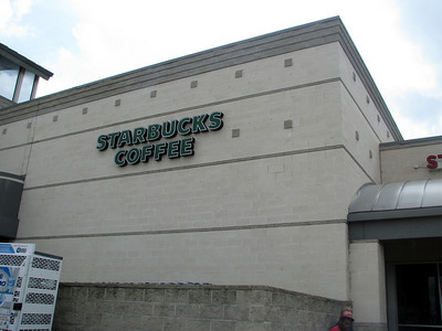 Picture of starbucks for Annie, only to flaunt that there are 3 in my town and none in hers! :)