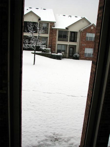 Snow in Dallas!