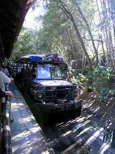 The beginning of Kilimanjaro Safaris. We rode this THREE times.