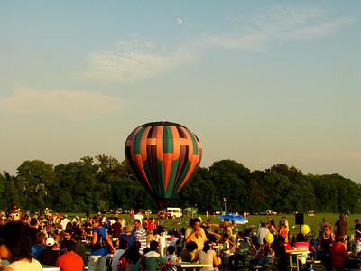 One last balloon taking off