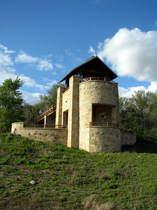Tower at Arbor Hills. We ran into some BIG dogs here that Bailey wanted to play with.