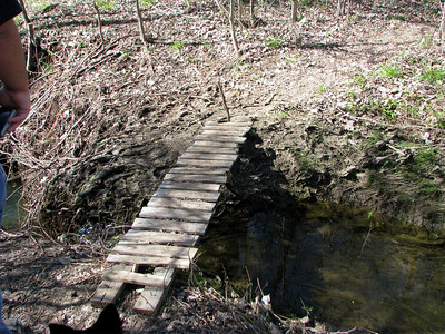Ok so we need to cross the creek and this is the bridge...anyone else see the problem here?