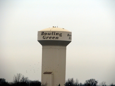 BG water tower as we passed by.