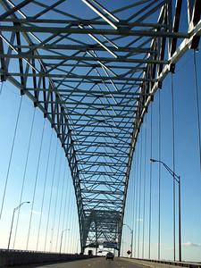 The Mississippi bridge.