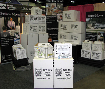 Booth at FW Home Show 2010