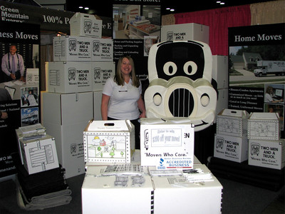 Jessica and Truckie at the FW Home Show Jan 2010