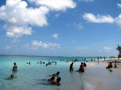 The Royal Palms beach on 7 Mile Beach.