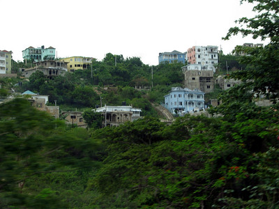 Jamaican rich people houses.