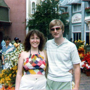 Our honeymoon at Disney World.