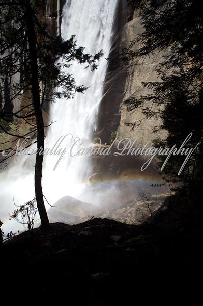 Vernal Falls. Yosemite National Park, CA