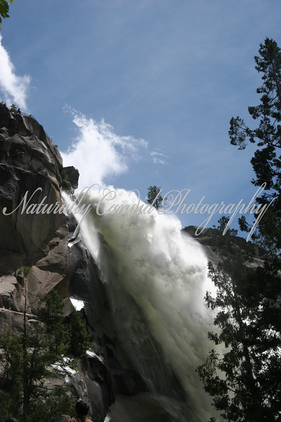 Nevada Falls. Pronounced (NEV-A-DA, not NEV-AH-DAH):)