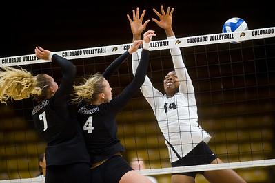 Photos: CU Volleyball Scrimmage