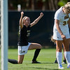"CU's Camilla Shymka celebrates after scoring in the second half of the game against Iowa at Prentup Field at CU Boulder on Sunday. CU defeated Iowa 4-1.<br /> More photos:  <a href=""http://www.buffzone.com"">http://www.buffzone.com</a><br /> (Autumn Parry/Staff Photographer)<br /> September 11, 2016"