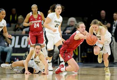 Photos: CU Vs Stanford Women's Basketball