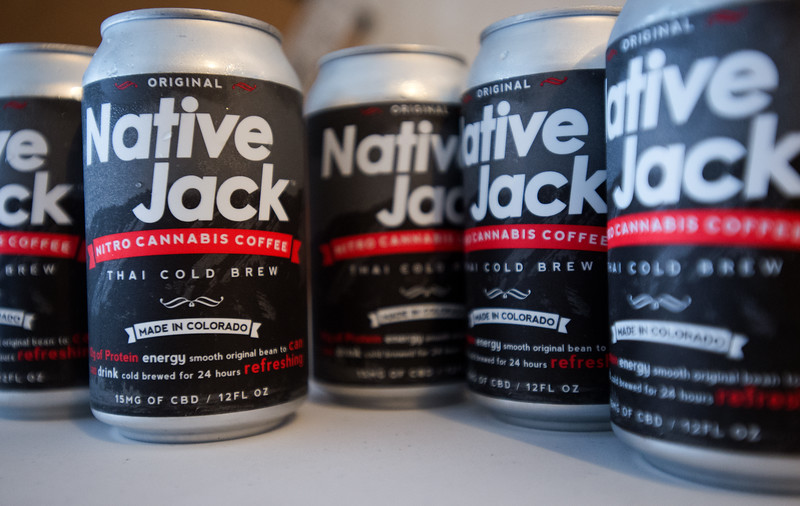 "Native Jack, a cold brew coffee infused with cannabis oil, is currently being sold in local stores like Alfalfa's Market.<br /> More photos:  <a href=""http://www.dailycamera.com"">http://www.dailycamera.com</a><br /> (Autumn Parry/Staff Photographer)<br /> September 2, 2016"