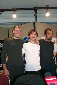 """Ride with the Devil"" Press Conference.<br /> September 1999: Toronto Film Festival."