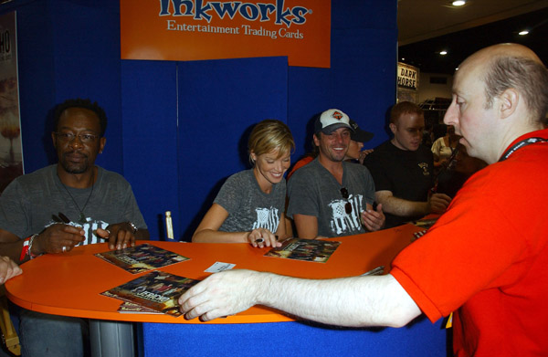 ComicCon Signing 2007.<br /> July 29, 2007: ComicCon International at the San Diego Convention Center in San Diego, California.