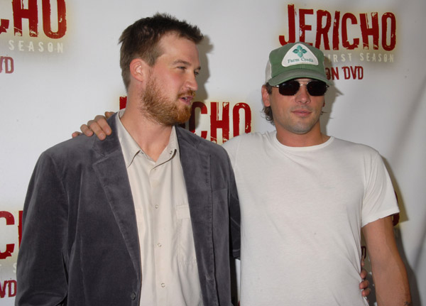 Jericho first season DVD launch party.<br /> October 2, 2007: Crimson in Hollywood, California.