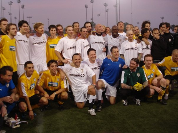 November 22, 2008: Hollywood United vs Champions United at The Home Depot Center, Field 5.