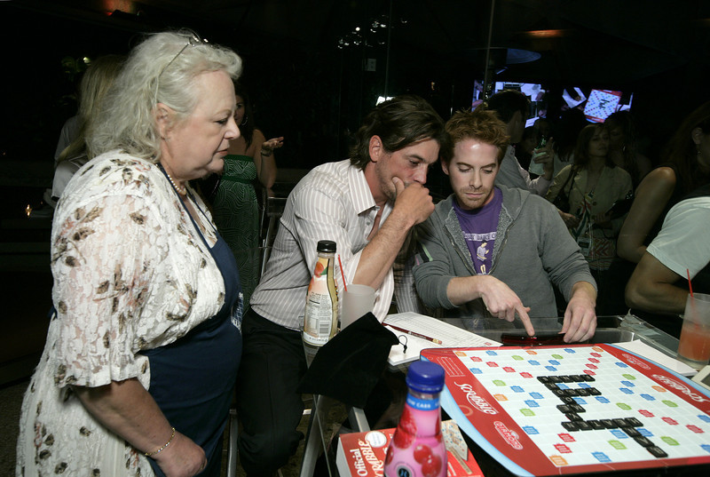 "HQ Courtesy of Scrabble! Credit: Williamson/WireImage.com<br /> June 12, 2008: The Goldstein Estate in Beverly Hills,CA<br /> St. Jude's ""Scrabble Under the Stars"""