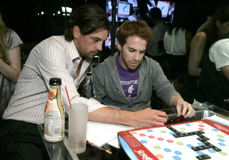 "HQ courtesy of Scrabble! Credit: Williamson/WireImage<br /> June 12, 2008: The Goldstein Estate in Beverly Hills,CA<br /> St. Jude's ""Scrabble Under the Stars"""