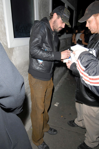"""""""Villa"""" in West Hollywood. January 25, 2008: Leaving the Villa in West Hollywood"""