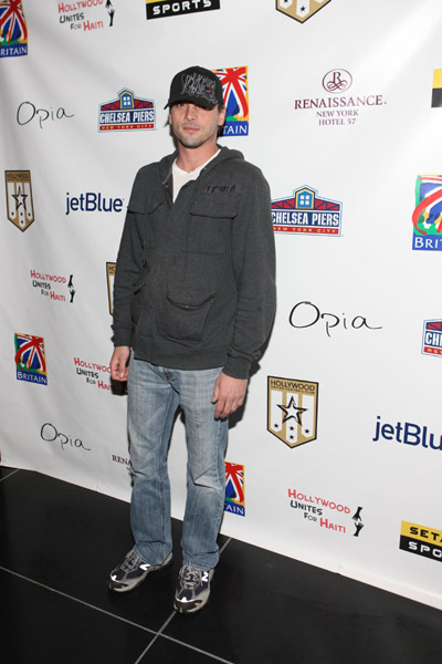 April 11, 2009: Skeet Ulrich attends the Hollywood United Football Club's Setanta Cup Exhibition Game After Party at Opia Lounge, New York City, New York.