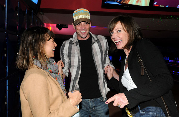 attends Old Navy's Rock & EBowl to benefit EBMRF at Pinz on November 13,2010 in Studio City, California.