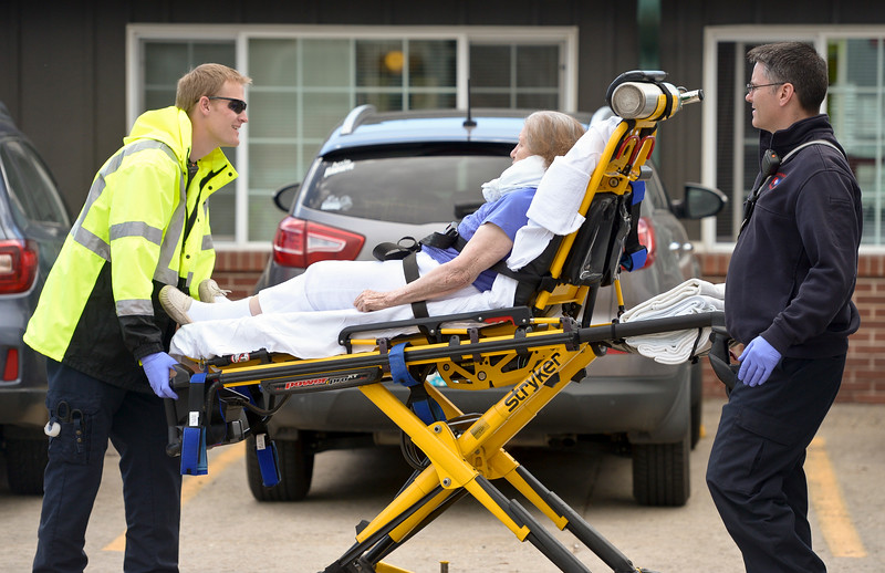 CAR CRASH INTO PEAKS CARE CENTER