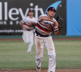 Medford Rogues at Chico Heat July 6, 2016 at Nettleton Stadium in Chico, Calif. (Emily Bertolino -- Enterprise-Record)