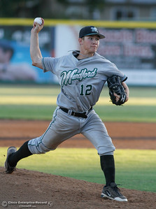 Medford Rogues's pitcher Dylan Pearce at Chico Heat July 6, 2016 at Nettleton Stadium in Chico, Calif. (Emily Bertolino -- Enterprise-Record)