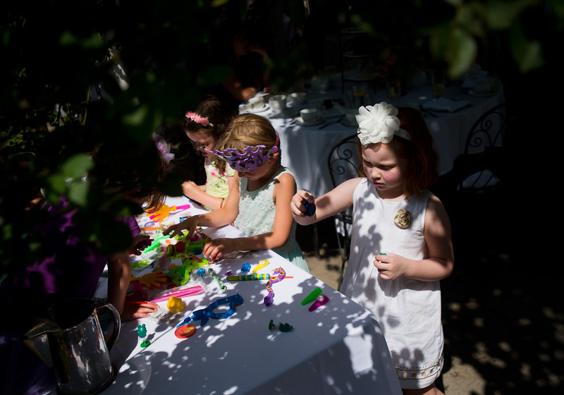 "Isla Kelly, 5, picks out a toy during the Children's Teddy Bear Tea Party, as part of the 16th annual Rocky Mountain Tea Festival at the Dushanbe Teahouse in Boulder on Sunday.<br /> More photos:  <a href=""http://www.dailycamera.com"">http://www.dailycamera.com</a><br /> (Autumn Parry/Staff Photographer)<br /> July 31, 2016"