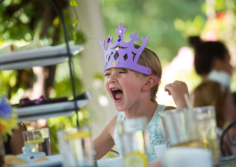 "Collette Jansky, 5, attends the Children's Teddy Bear Tea Party, as part of the 16th annual Rocky Mountain Tea Festival at the Dushanbe Teahouse in Boulder on Sunday.<br /> More photos:  <a href=""http://www.dailycamera.com"">http://www.dailycamera.com</a><br /> (Autumn Parry/Staff Photographer)<br /> July 31, 2016"