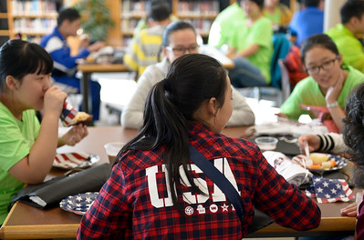 Photos: Chinese students visit Silver Creek H.S.