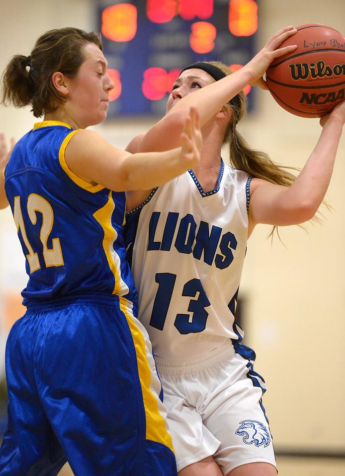 LYONS GIRLS BASKETBALL