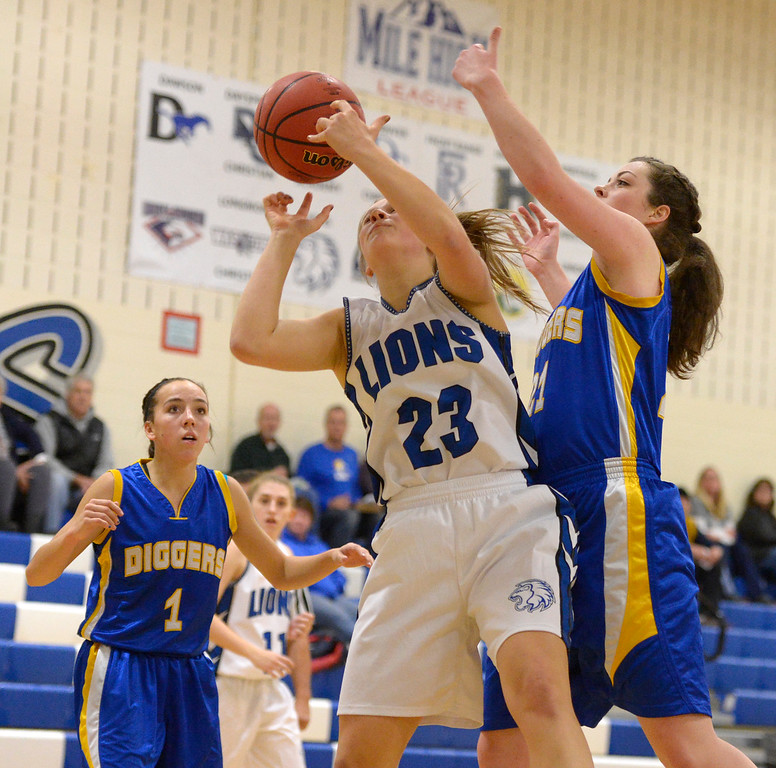 LYONS GIRLS BASKETBALL