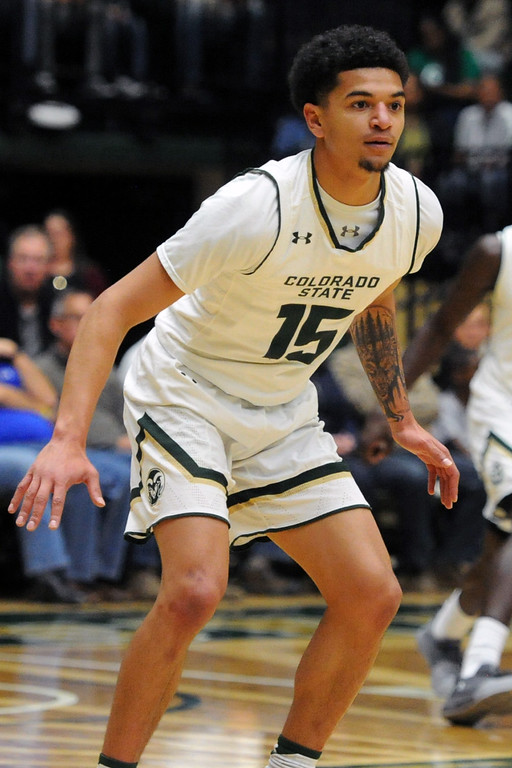 . Colorado State guard Anthony Bonner during a game against Sacramento State on Friday, Nov. 10, 2017 at Moby Arena in Fort Collins.  (Sean Star/Loveland Reporter-Herald)