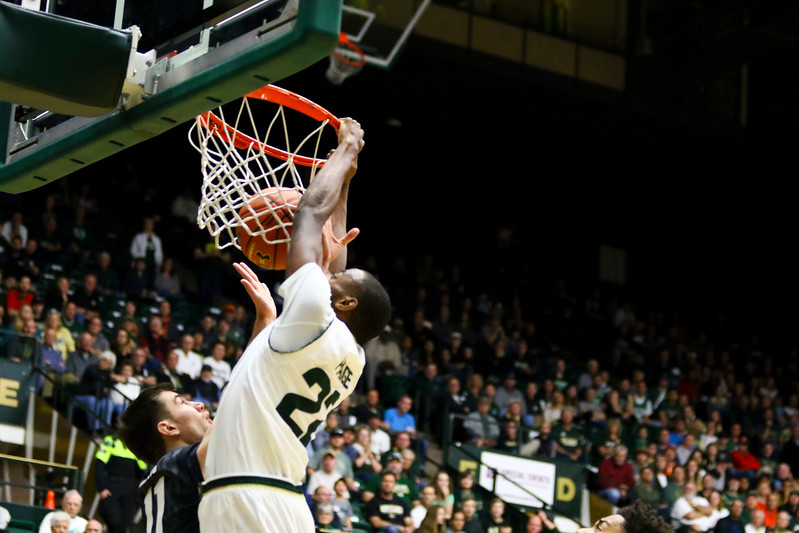 Colorado State basketball hosts rival Colorado on Saturday at Moby Arena in Fort Collins.