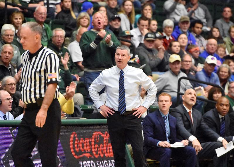 Boise State coach Leon Rice